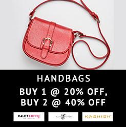 Handbags Buy1@ 20% off,Buy @40% off