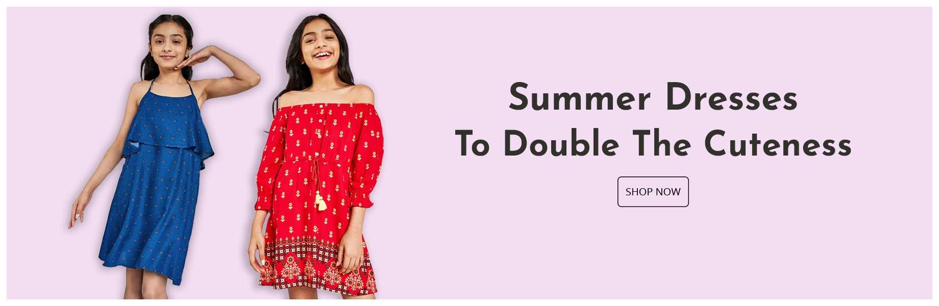 girls-summer dresses