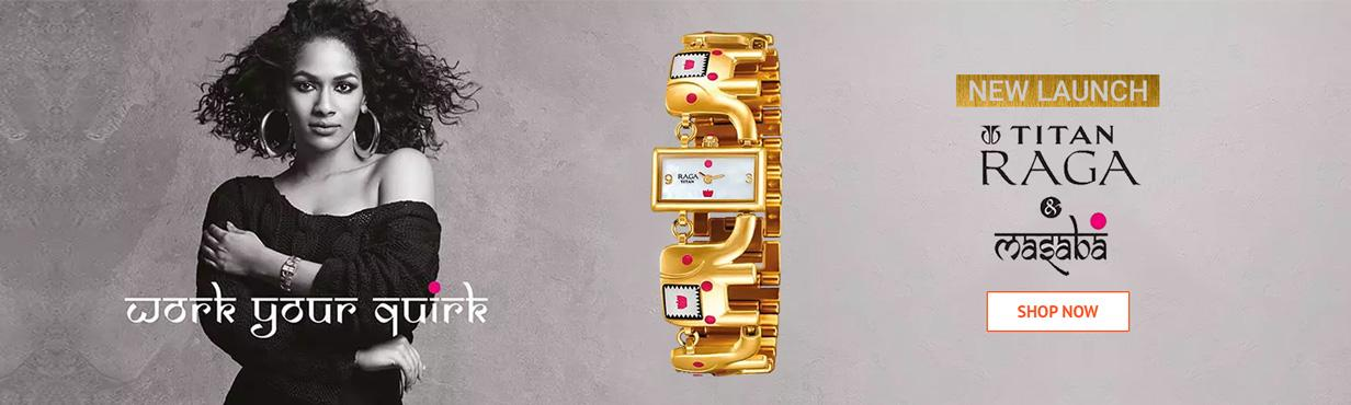 NEW LAUNCH TITAN RAGA BY MASABA COLLECTION