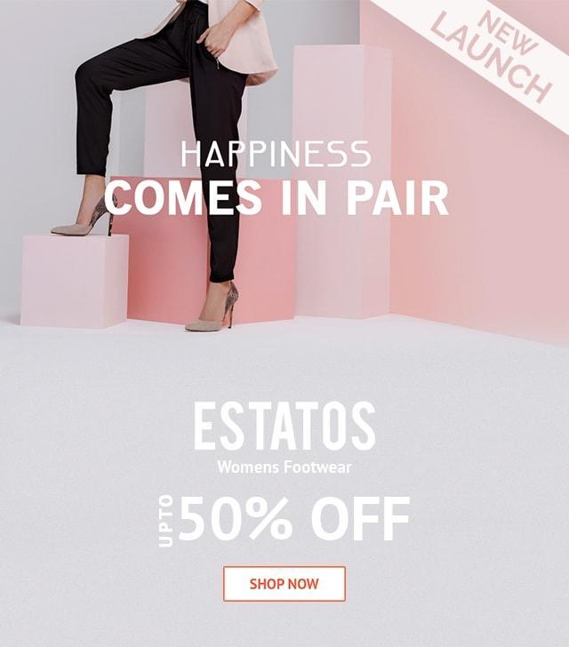 ESTATOS WOMEN FOOTWARE FLAT 50% OFF