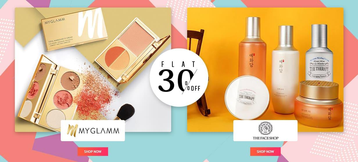MY GLAMM THE FACE SHOP OFFER