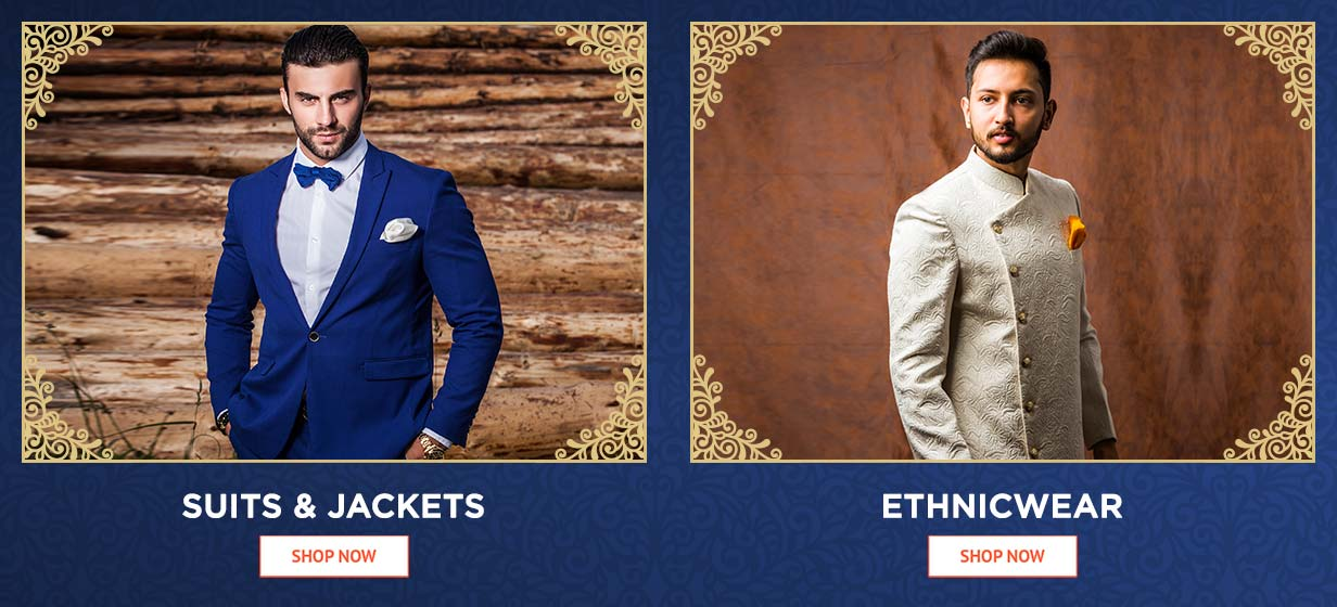 suit&jacket and ethnicwear