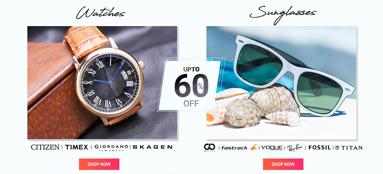 WATCHES SUNGLASSES OFFER